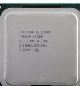 Процессор intel Xeon l5408 4 ядра 775 сокет