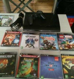 PS 3 на 500 гб. с играми