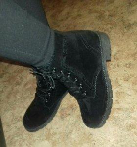 Новые ботиночки зима 37р