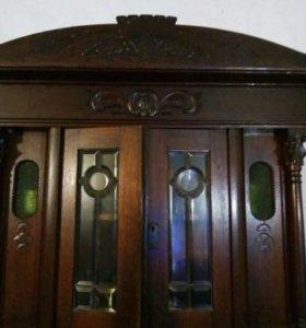 Буфет 19 век из дуба