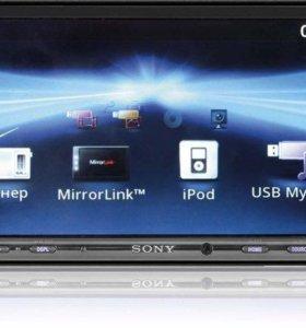 Sony xav-741 магнитола