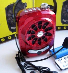 Громкоговоритель диктофон FM MP3Bluetooth Xinsast