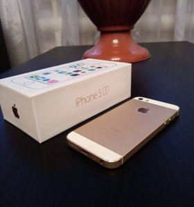 iPhone 5s, 16gb, gold