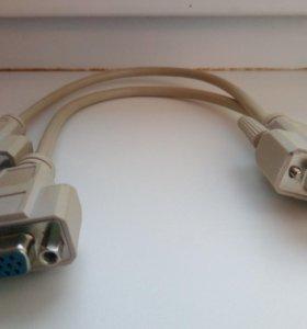 Разветвитель VGA на 2 монитора