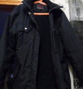 Куртка на синтепоне б/у.