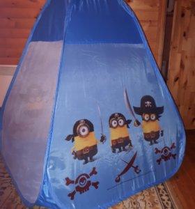 Детская палатка Миньоны