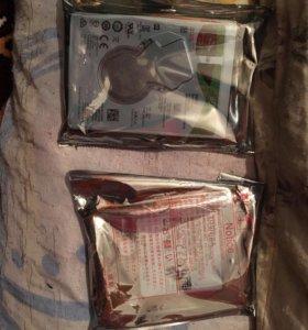 Продам новые жёсткие диски для ноутбука