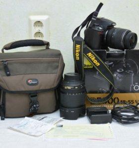 Nikon d5000 kit и Объектив Nikon 18-105mm