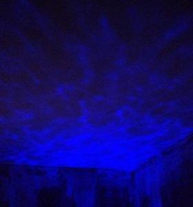 """Ночник проектор """"На дне морском"""" Daren Waves"""
