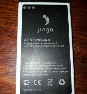 jinga simpl f300 аккумулятор