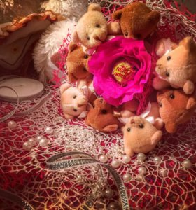 💐 букет 💐 мишки