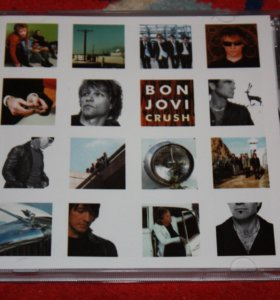 Фирменный СВ Bon Jovi – Crush - 2000