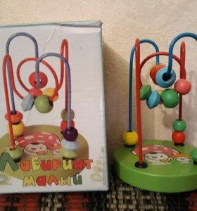 Развивающая игрушка Лабиринт-серпантин