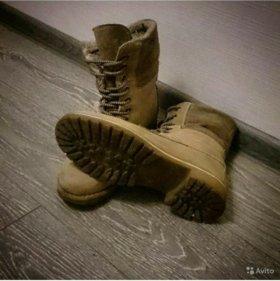 Ботинки нубук Tamaris 39 размер