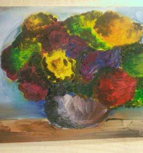 Абстракция ,, Букет цветов,,