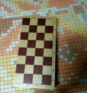 Шахматы деревянные новые