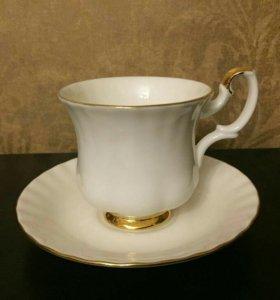 2 кофейные пары royal Albert 1960-1970e