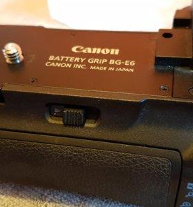 Батарейный блок Canon BG-E6 для Canon 5D Mark ll