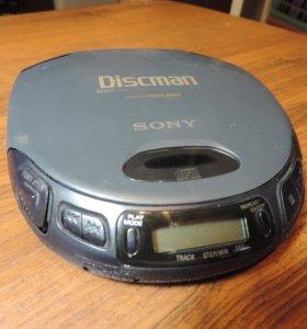 Discman CD compact player D-155.
