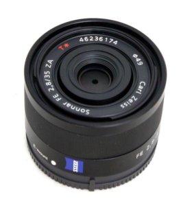 Объектив Sony Carl Zeiss 35mm f/2.8 SEL35F28Z