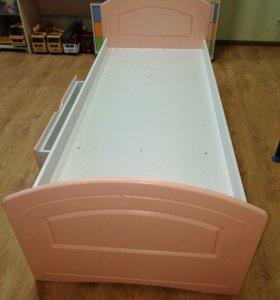 """Розовая детская кроватка для Вашей """"Принцессы"""""""