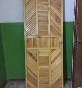 Дверь входная (дерево)