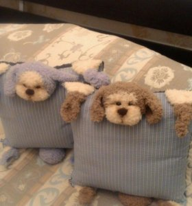 Подушки-игрушки.