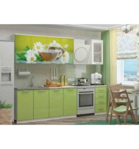 Кухня Ванильный чай 2.0 м новая