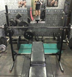 Стойки под штангу нагрузка 400 кг