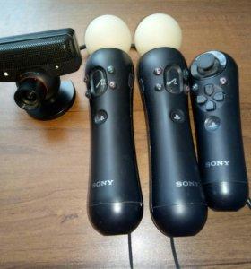 Комплект PS Move + Navigation