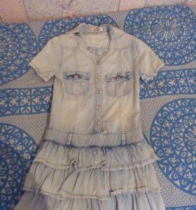 Продам джинсовое платье