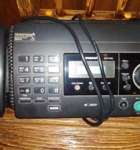 Телефон /факс Panasonic KX-FT502RU