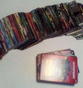 """Коллекция карточек """"Черепашки-ниндзя"""""""