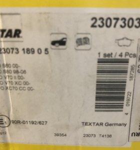 Тормозные колодки передние Volvo S60 новые в короб