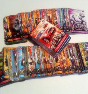 """Коллекция карточек """"Супер гонки"""""""