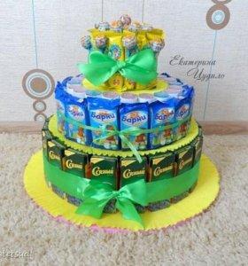 Торт из сладостей для д\сада и не только