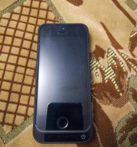IPhone 5s+power bank(4200mAh) +2 чехла в подарок.