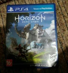 Диск для playstation 4 horizon zero dawn