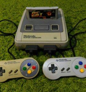 Super Nintendo(famicom) +4 игры
