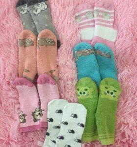 Тёплые детские носочки
