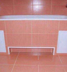 Ремонт ванных комнат и санузлов под ключ.