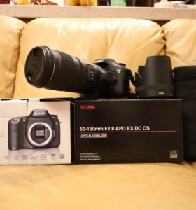 Canon EOS 7D пробег 8309+Sigma 50-150 F2.8 OS HSM