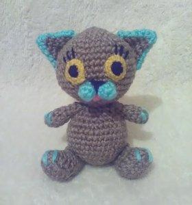 Котик-полосатик