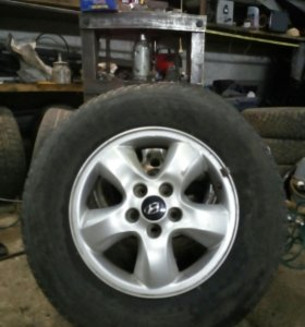 Колеса на хундай R16 цена за 3 колеса.