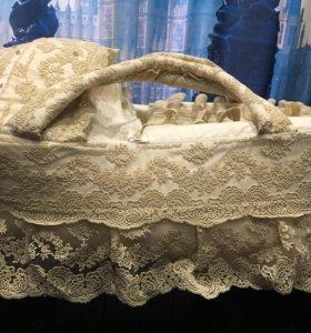 Сумка переноска для новорождённого