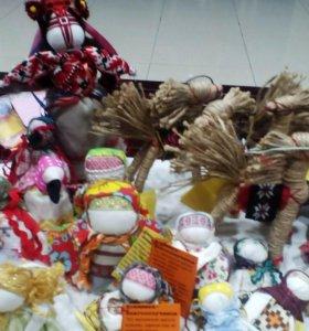 Традиционные ляльки обереги