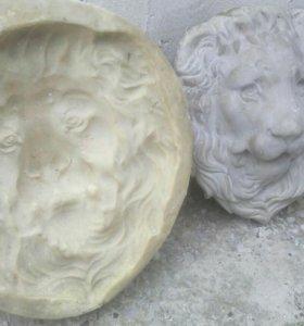 Скульптура льва, форма.