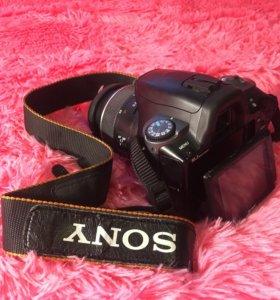 Зеркальный фотоаппарат SONY a 330