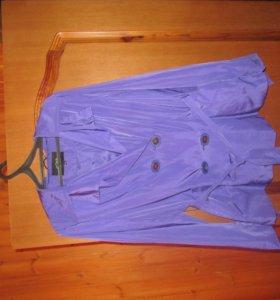 Укороченный плащ-куртка легкая