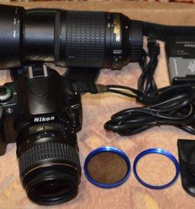 Nikon D40 Kit+ Nikon 55-200mm
